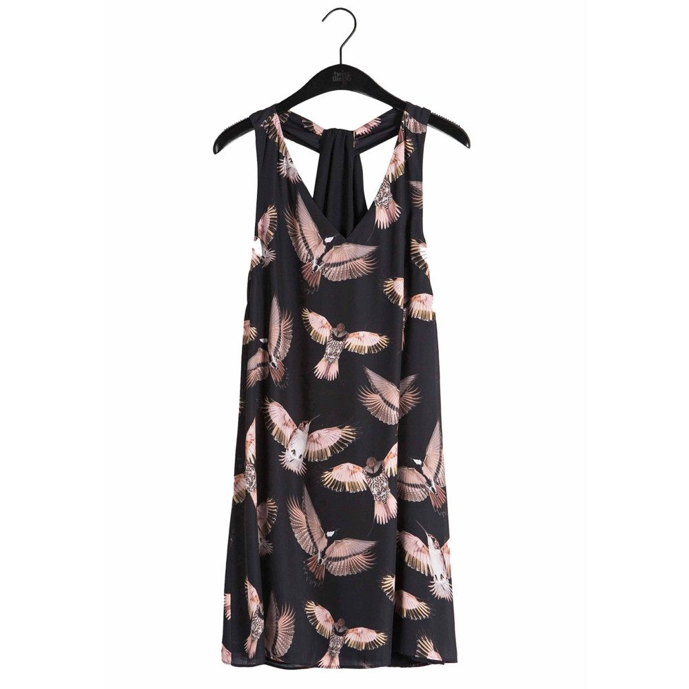 Stacy Short Dress - Black