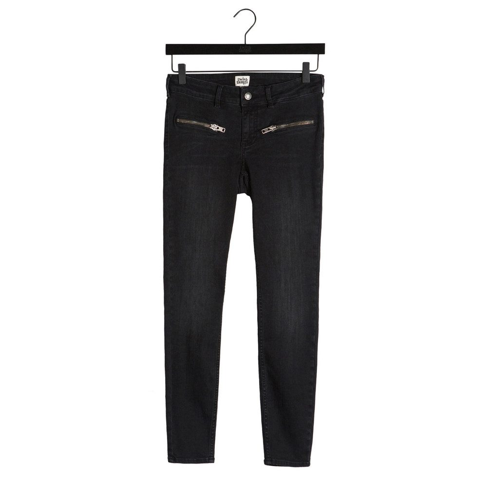 Sid Ankle Jeans - Washed Grey