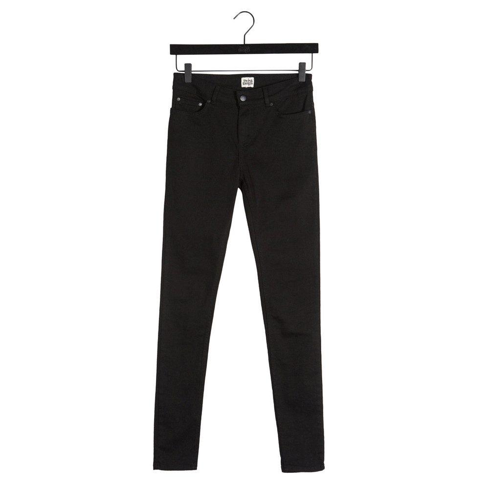 Julie Denim Trousers - Black