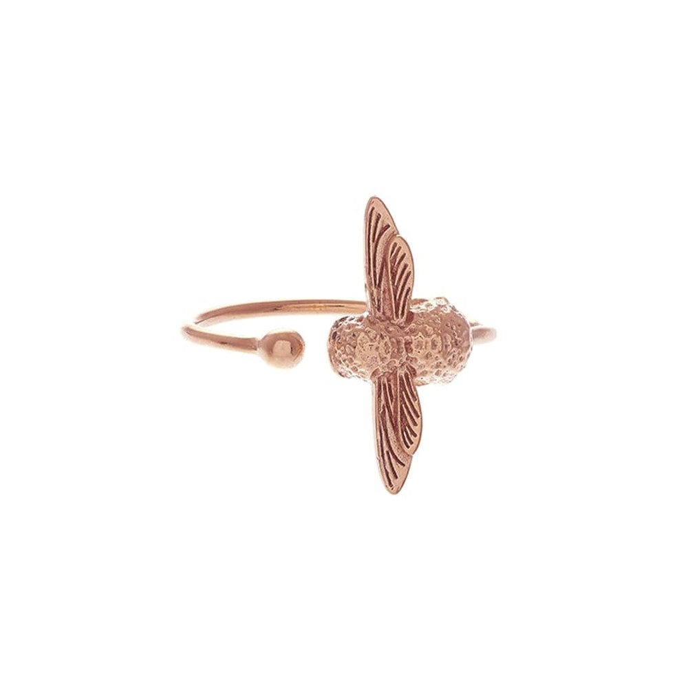 3D Bee Ring - Rose Gold