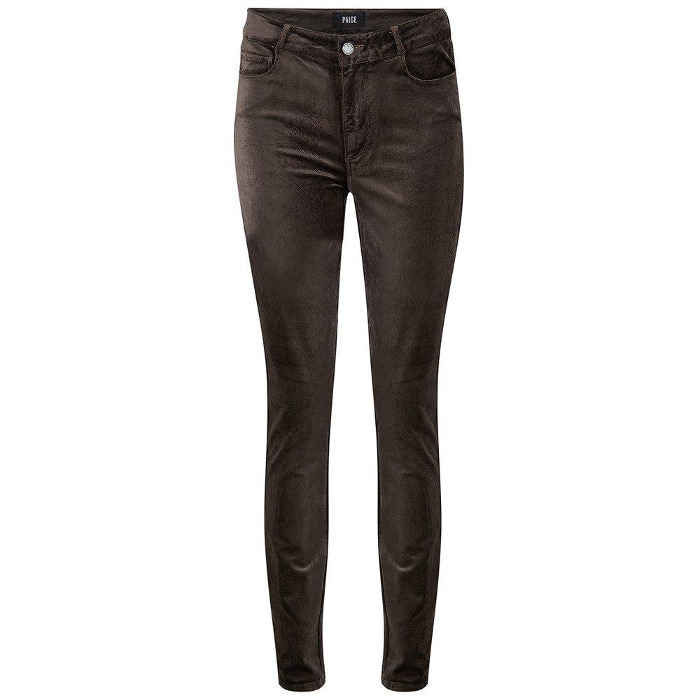 Hoxton Velvet Skinny Jeans - Vintage Deep Juniper