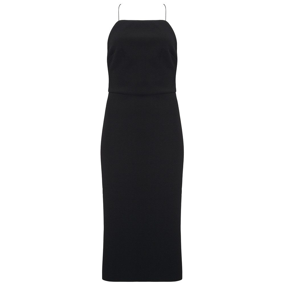 Luxul Tie Back Dress - Black