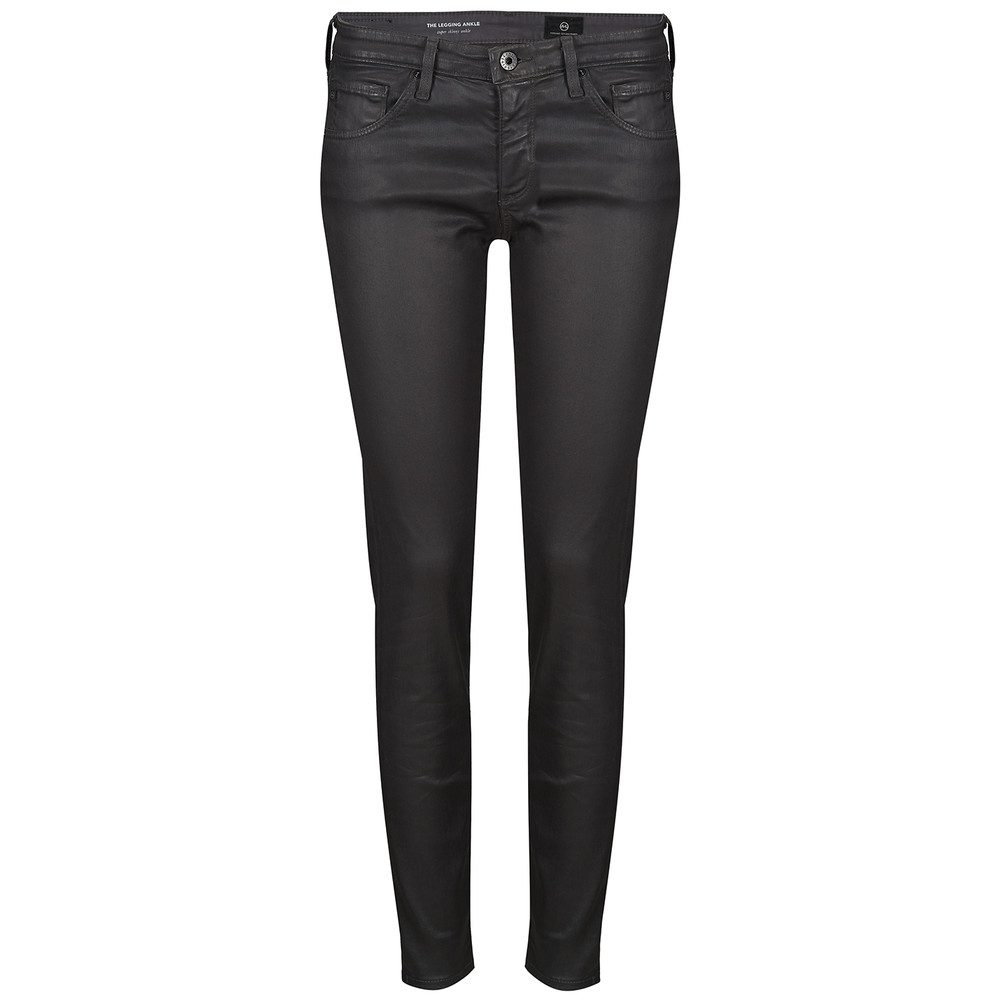 The Legging Coated Ankle Jean - Field Stone