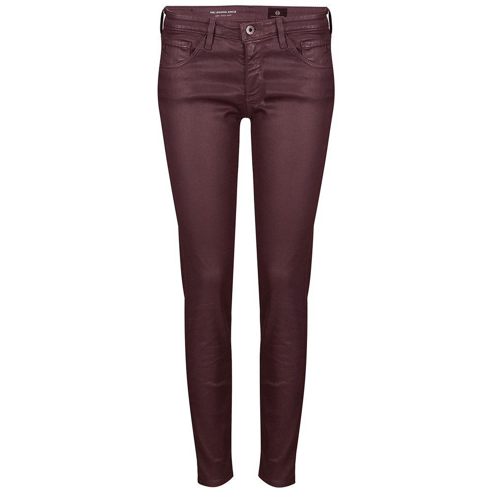 The Legging Coated Ankle Jean - Deep Current