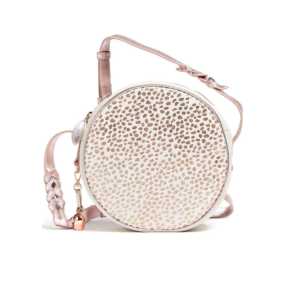 Canteen Pony Bag - White & Rose Gold
