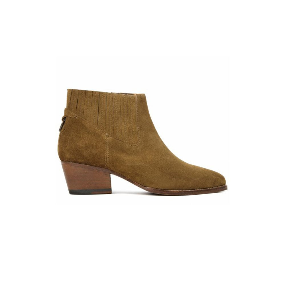 Ernest Suede Boots - Tan