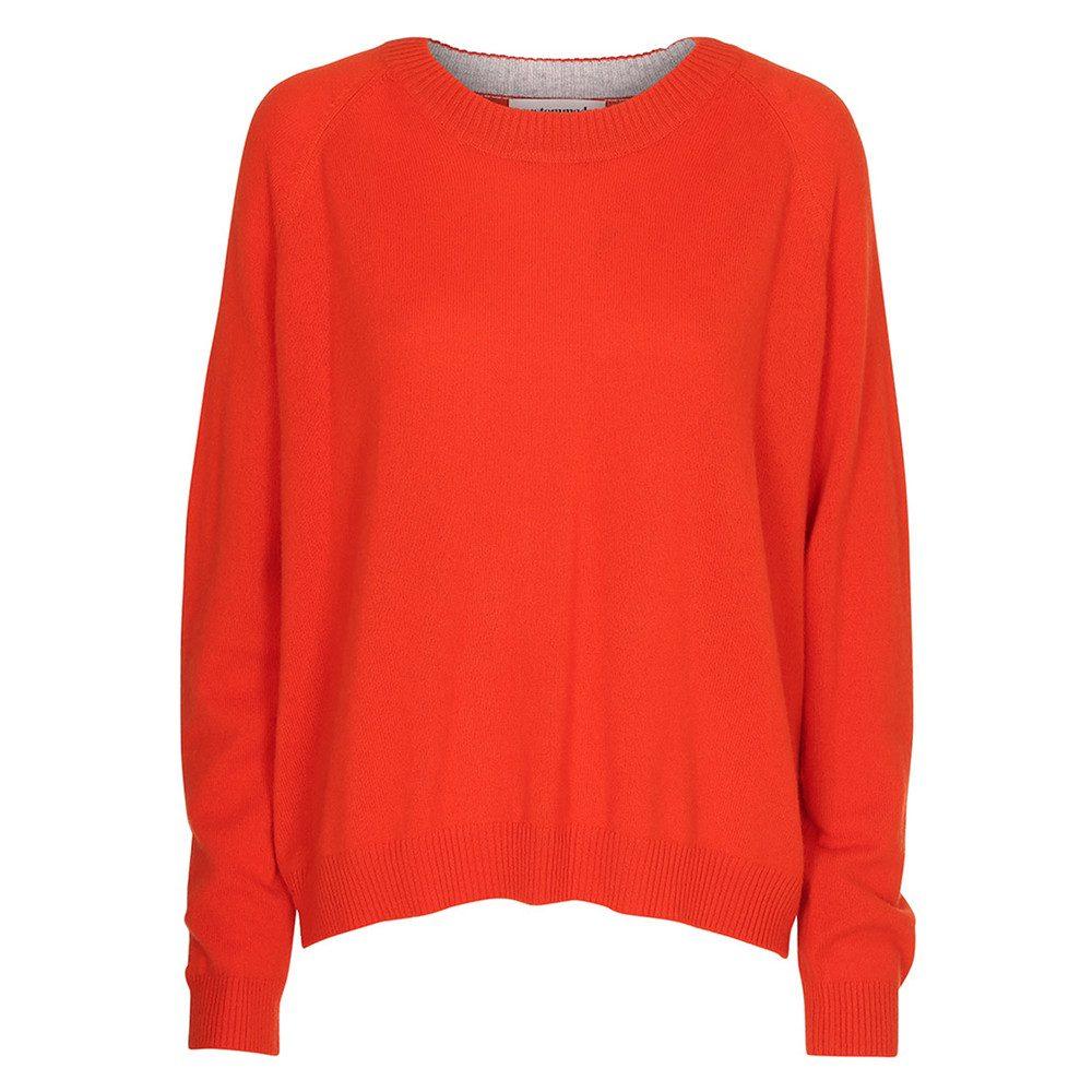 Casja Cashmere Sweater - Cherry Tomato