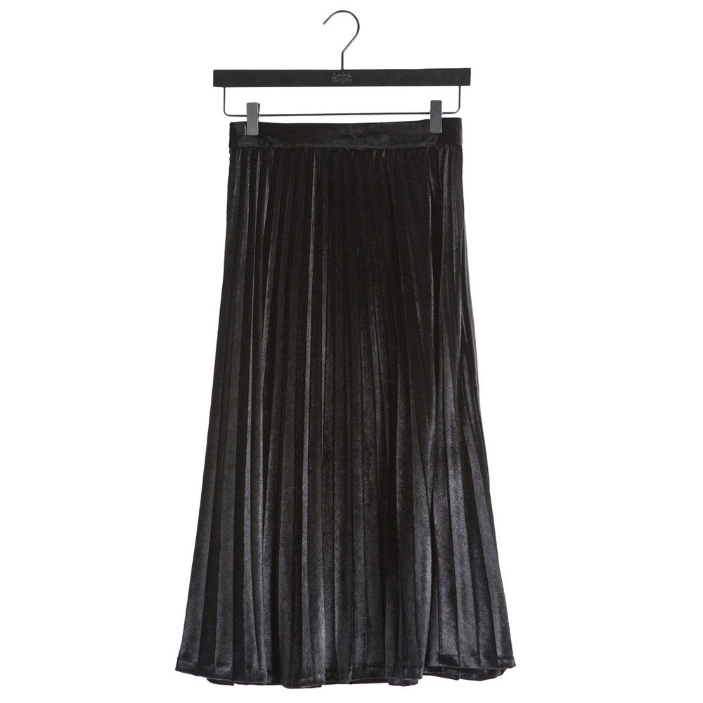 Fanny Plisse Skirt - Black