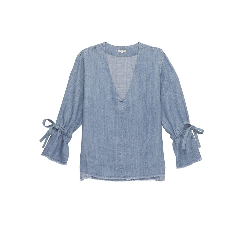 Zimi Denim Blouse - Medium Vintage Wash