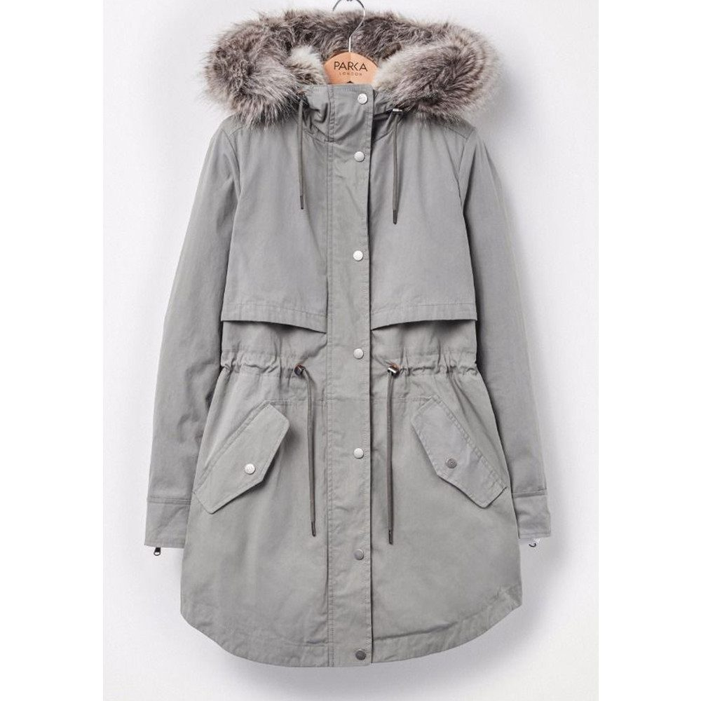 Lara 2 in 1 Parka Coat - Sage