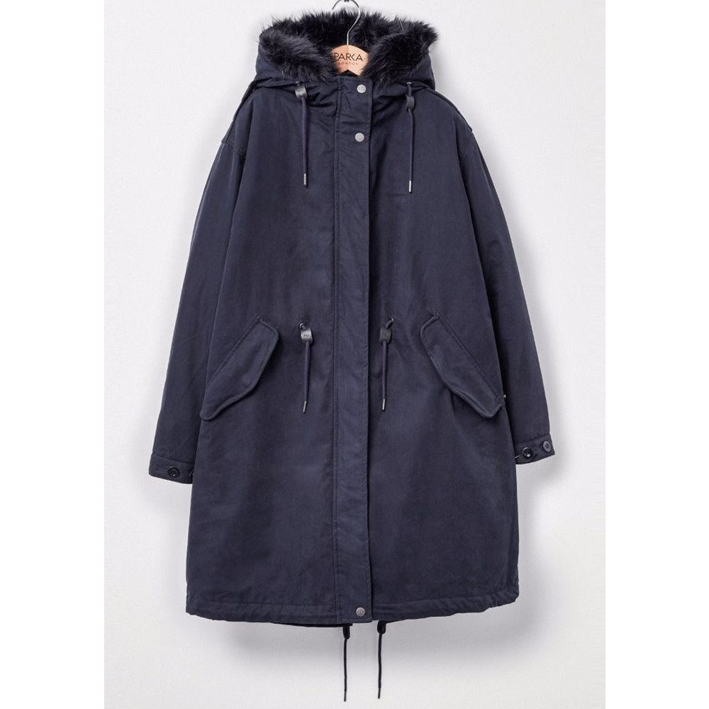 Connie 3 in 1 Parka Coat - Navy