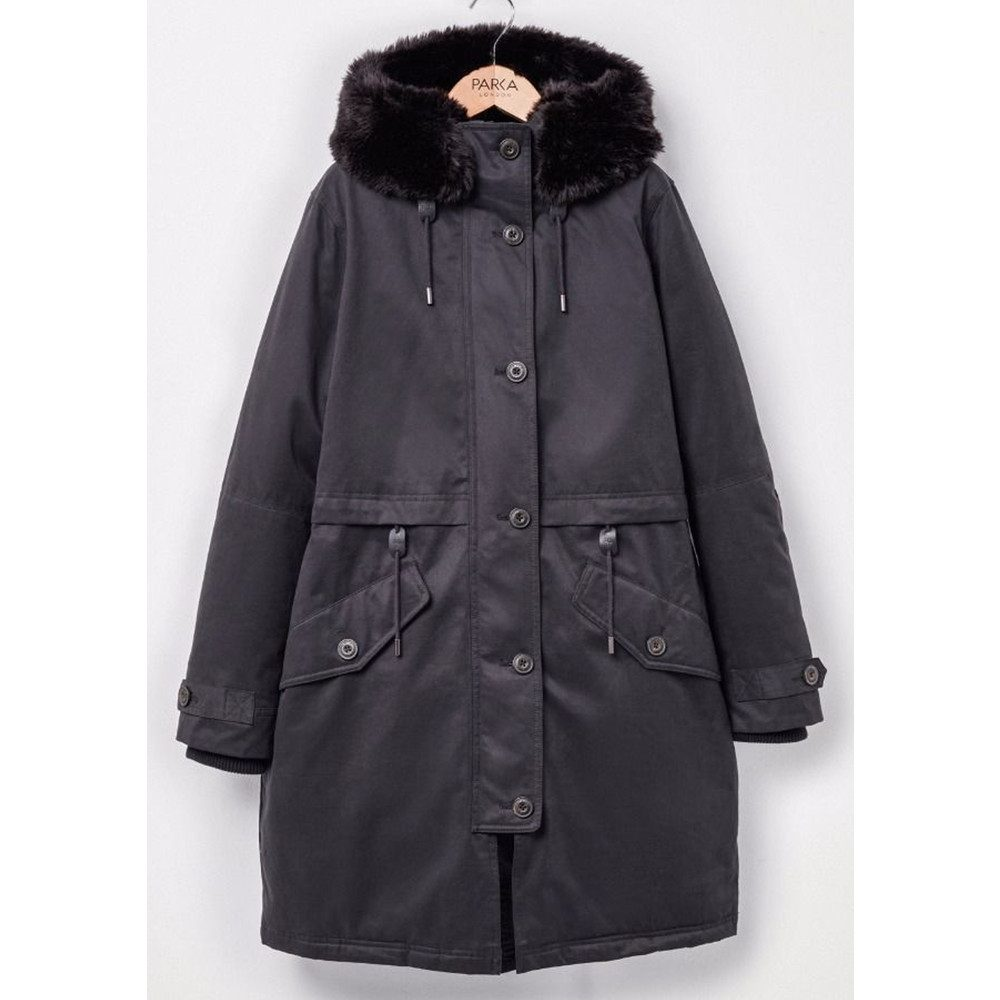 Lucinda Essential Parka - Black