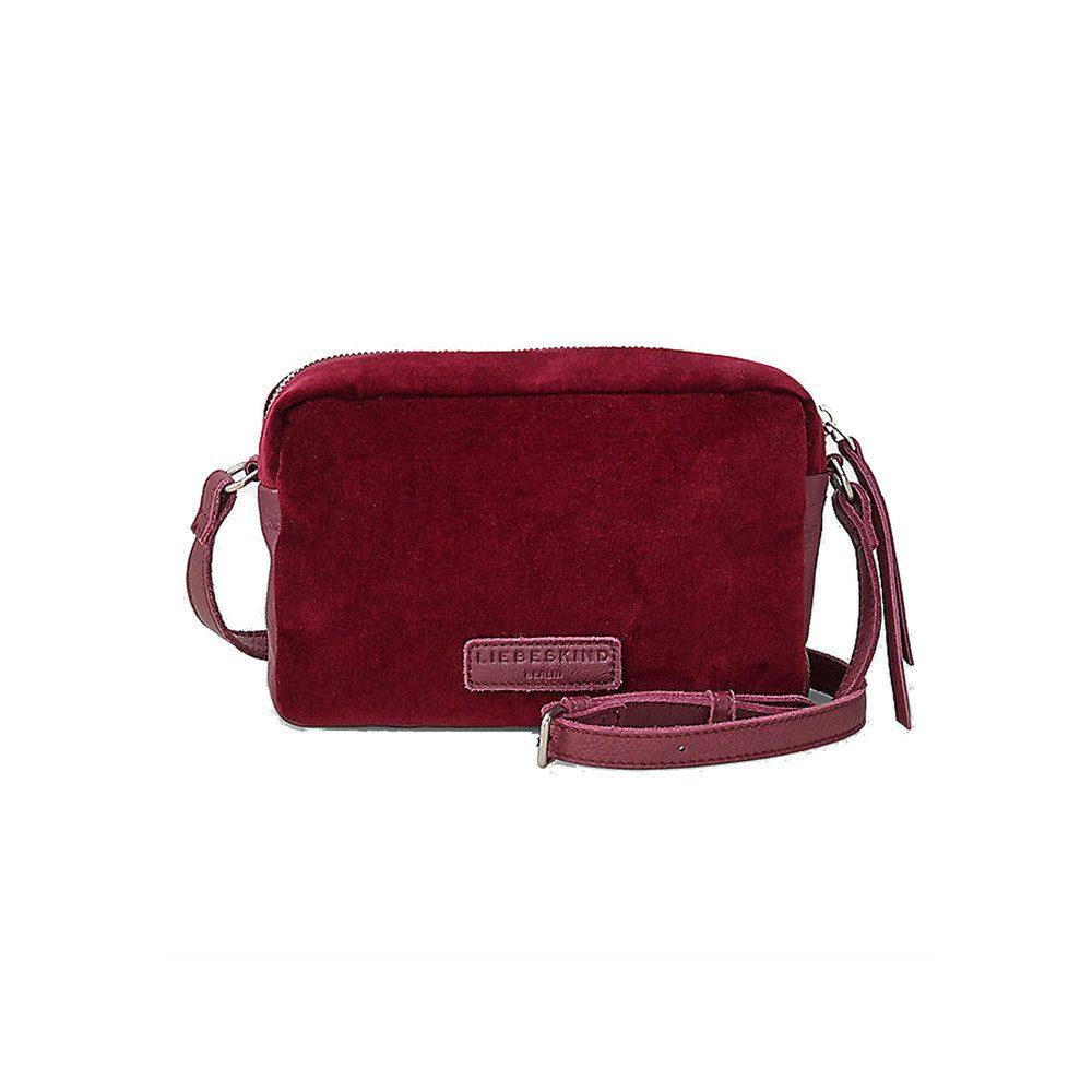 Jolanda Small Velvet Bag - Wine