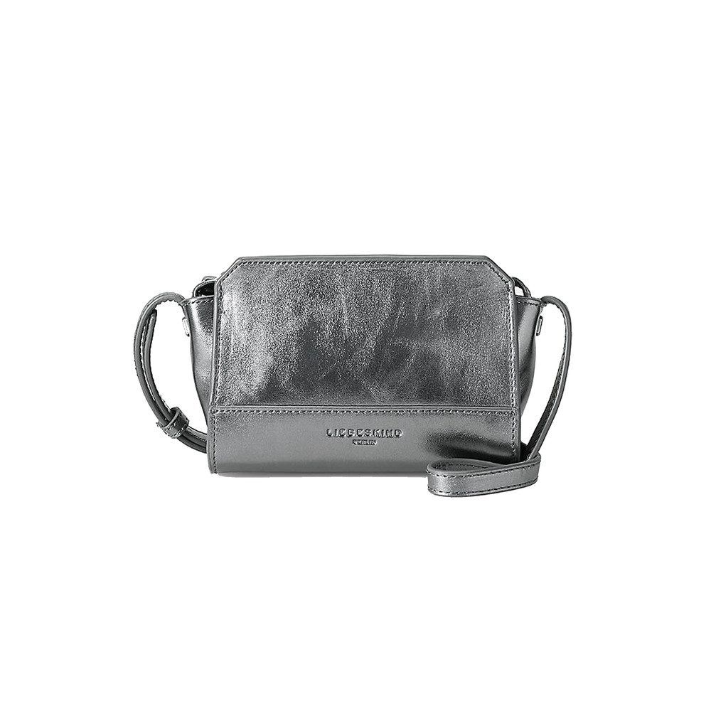 Hollywood Leather Bag - Rock Grey Metallic