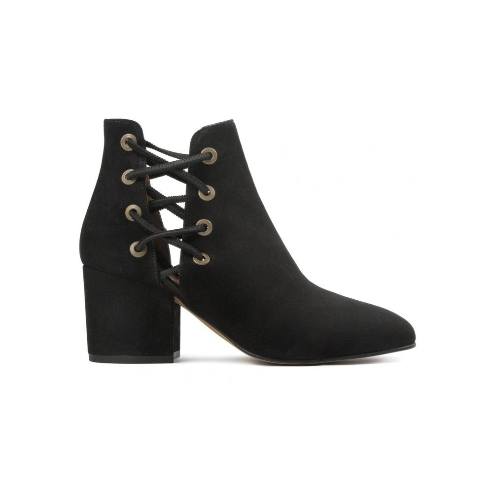 Krys Suede Boot - Black