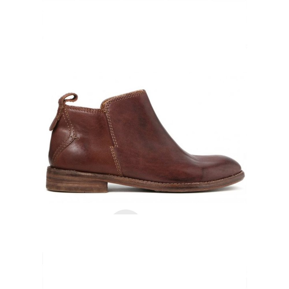 Revelin Leather Boot - Chocolate