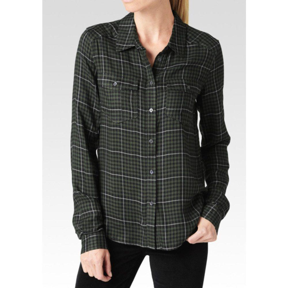 Mya Shirt - Black, Army and Grey
