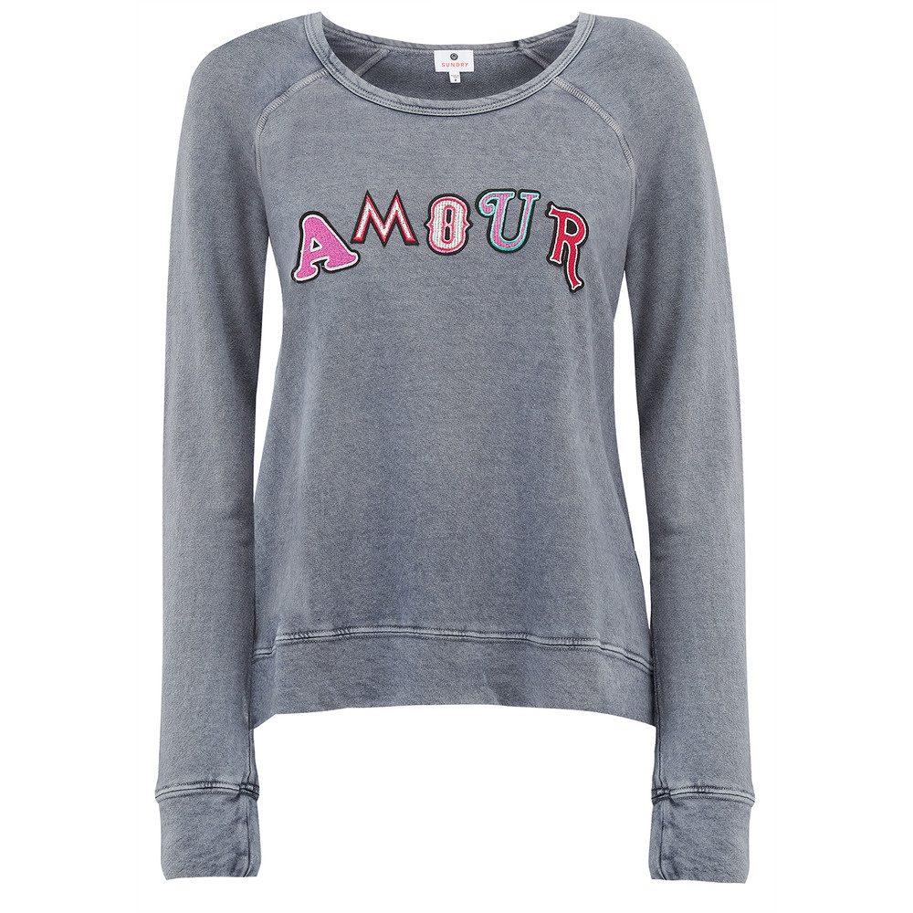 Amour Pullover - Vintage Soft Black