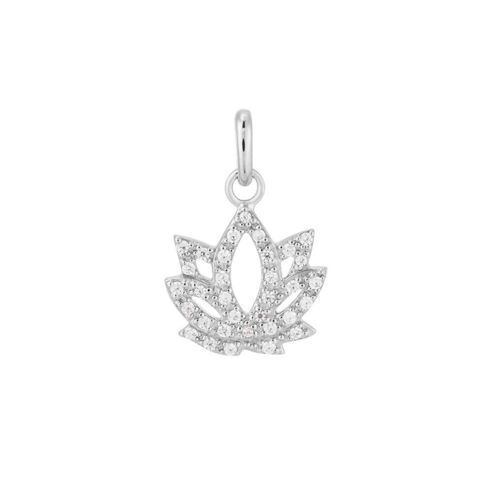 Bespoke Lotus Charm - Silver