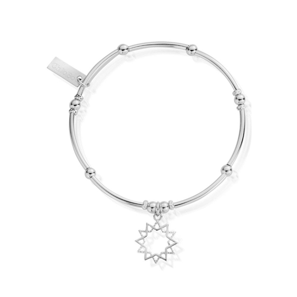 Inner Spirit Wishful Soul Star Bracelet - Silver