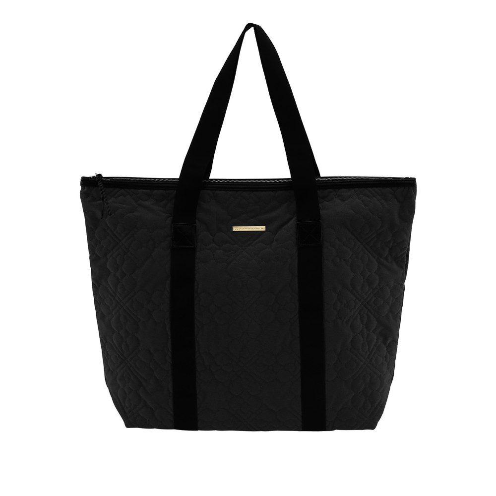 Day Gweneth QV Flower Velvet Bag - Black