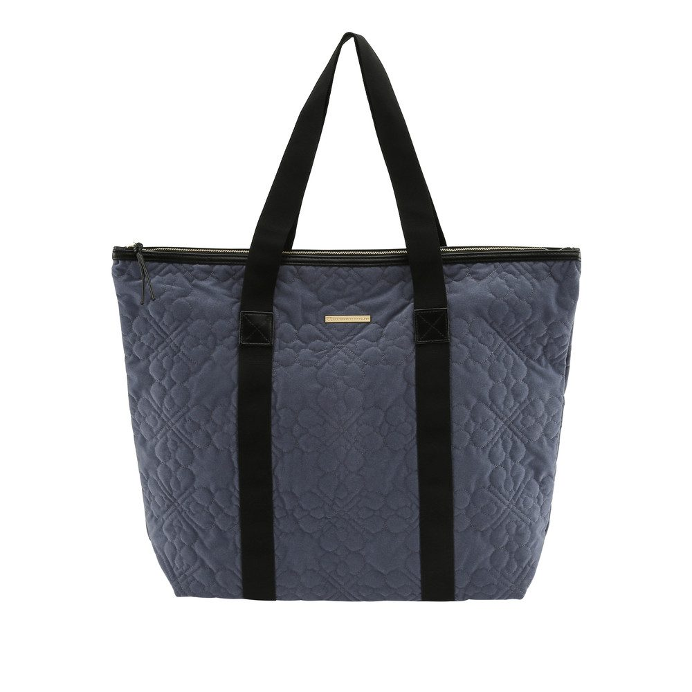 Day Gweneth QV Flower Velvet Bag - Blue Whirl