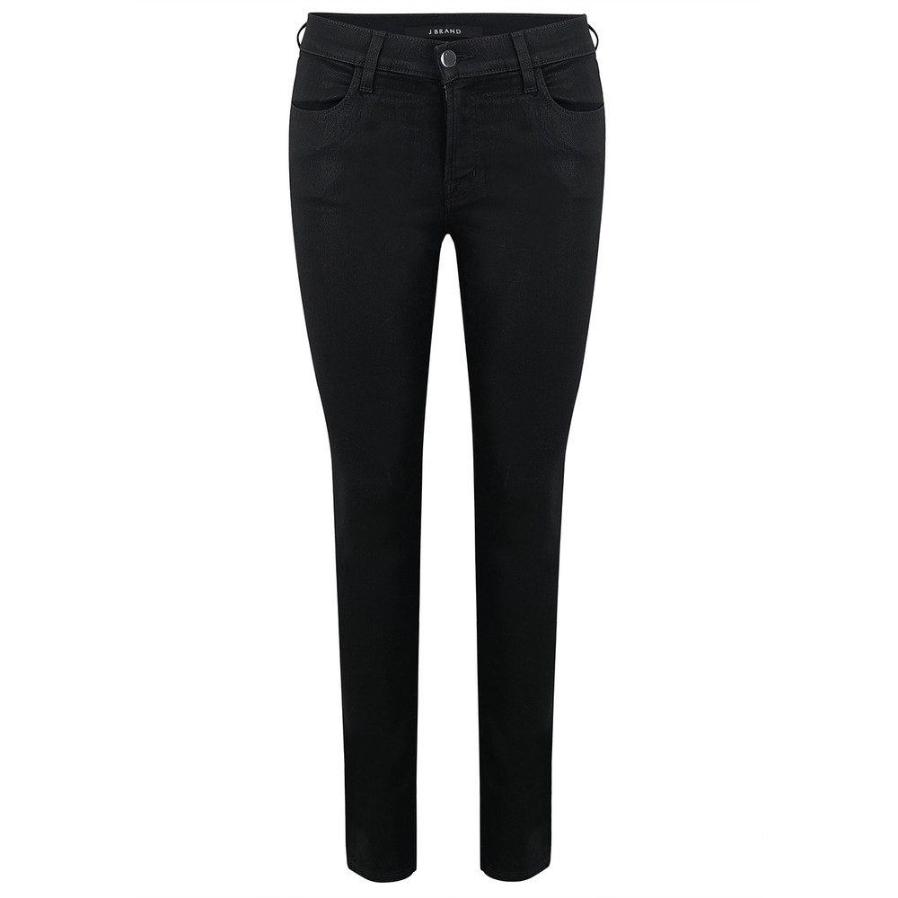 Mid Rise Super Skinny Coated Jeans - Fearless