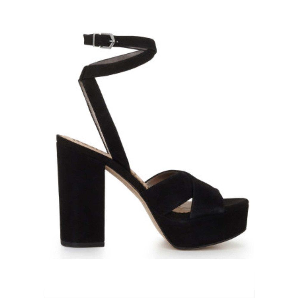 Mara Platform Sandal - Black