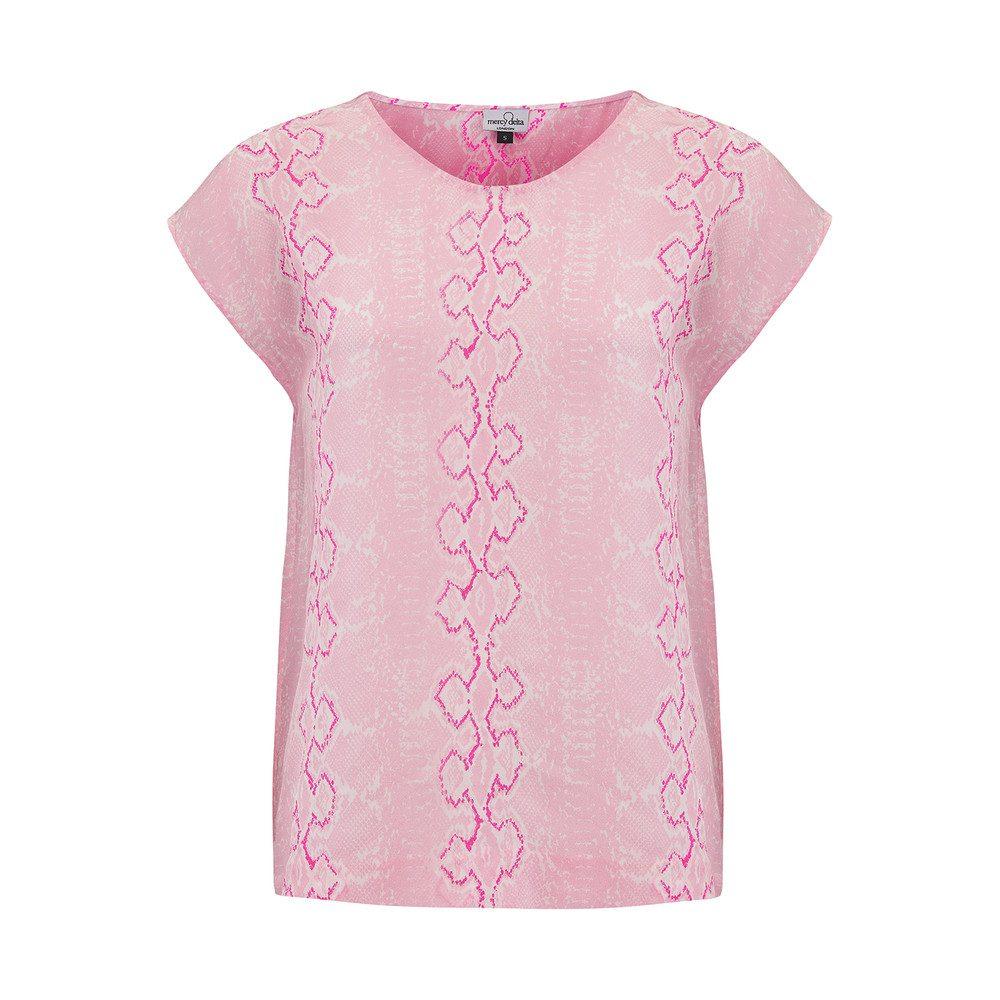 Blair Embroidery Top - Python Blush