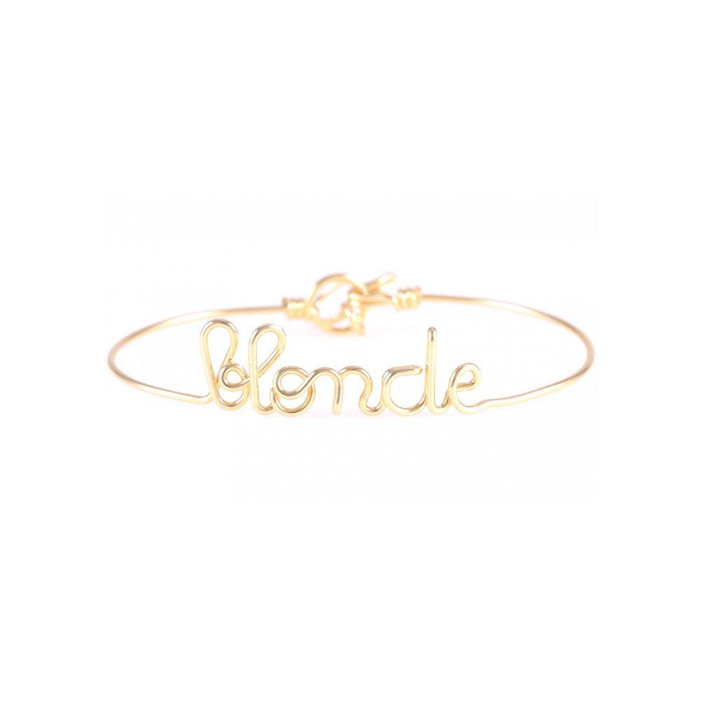 Blonde Bracelet - Gold