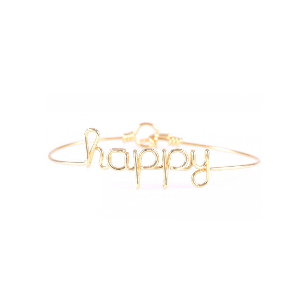 Happy Bracelet - Gold