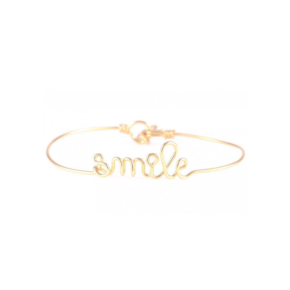 Smile Bracelet - Gold