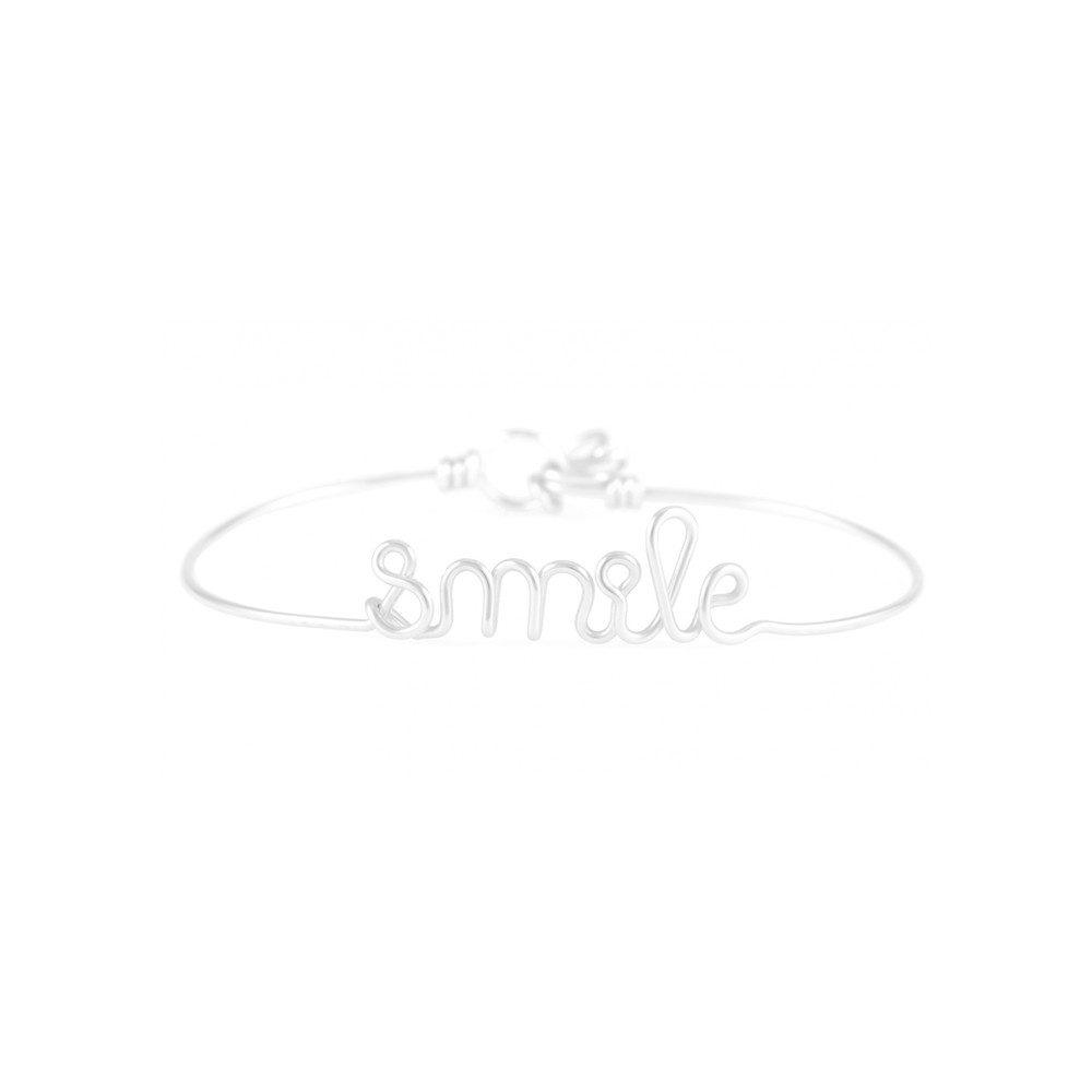 Smile Bracelet - Silver