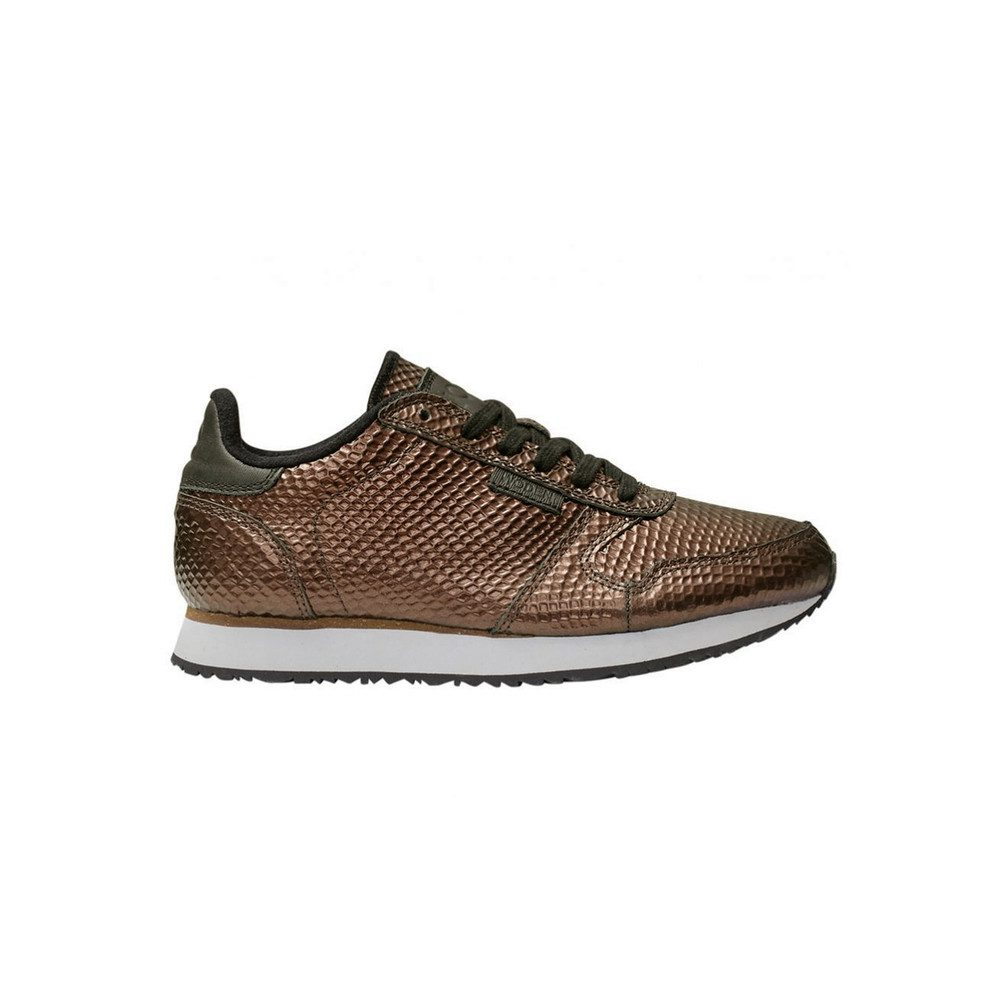 Ydun Metallic Trainers - Burnished Copper