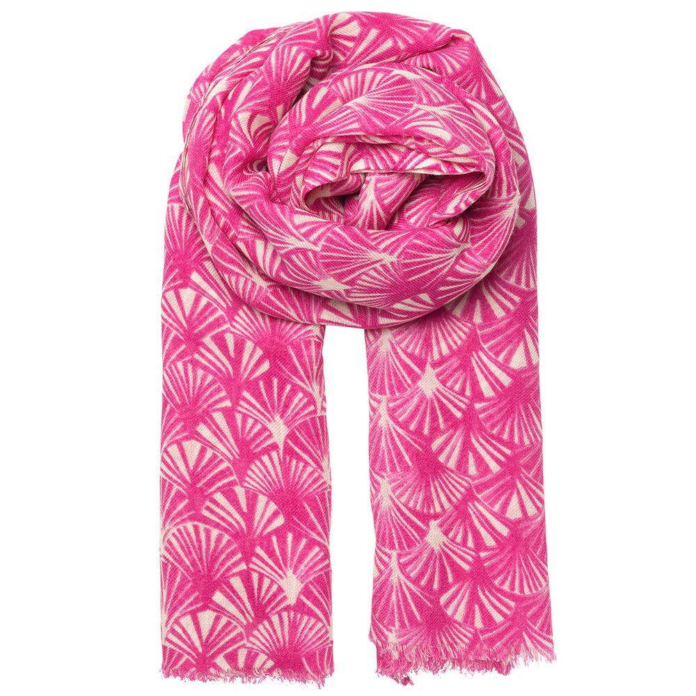 Fanna Scarf - Pink Yarrow