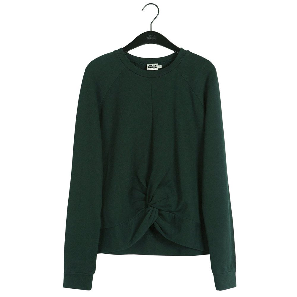 Adele College Sweater - Forest