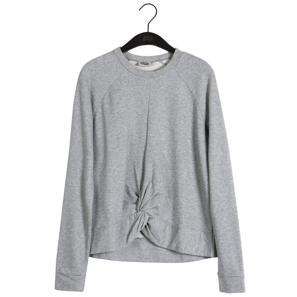Adele College Sweater - Mid Grey