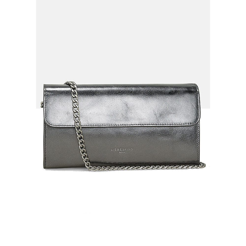 Maria Leather Bag - Rock Grey Metallic