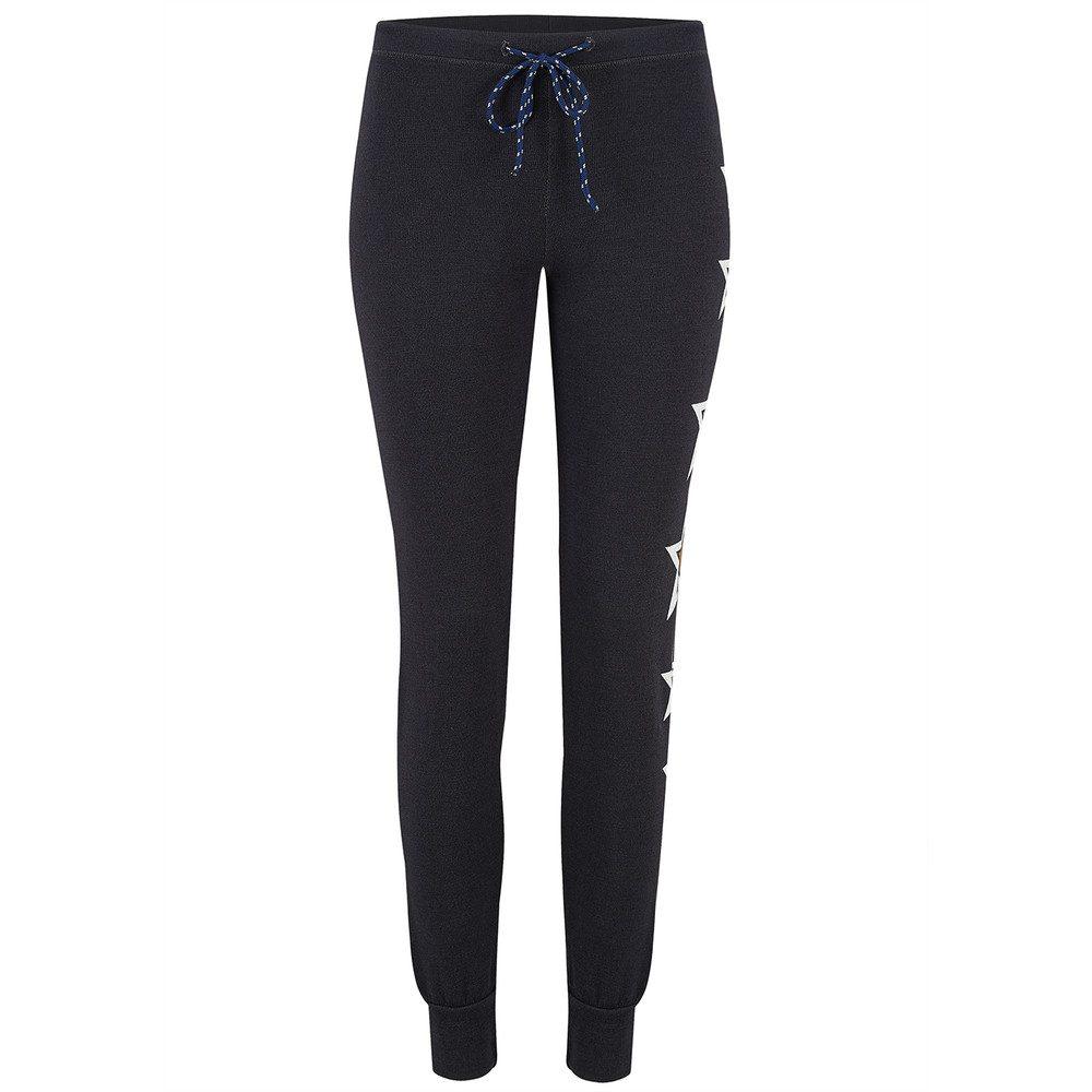 Side Stars Skinny Pant - Black