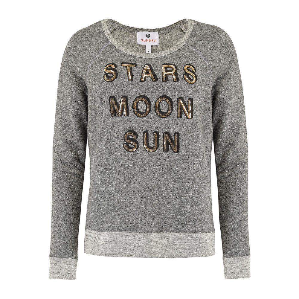 Stars, Moon and Sun Sweater - Grey