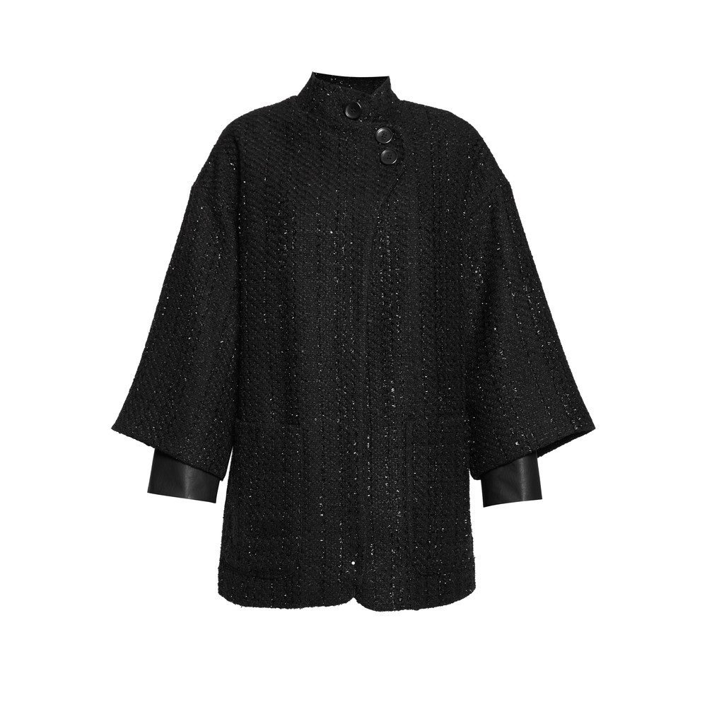 St Martins Coat - Onyx Black