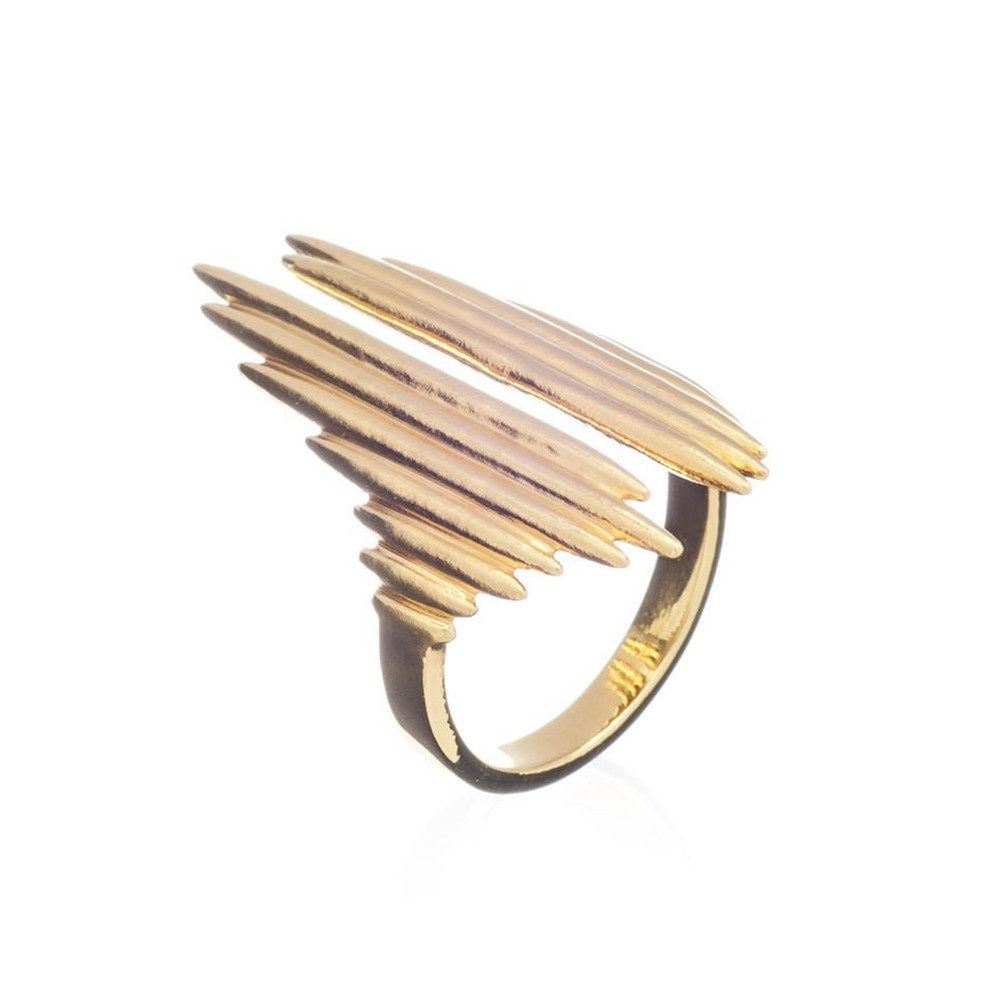 Electric Goddess Ring - Gold