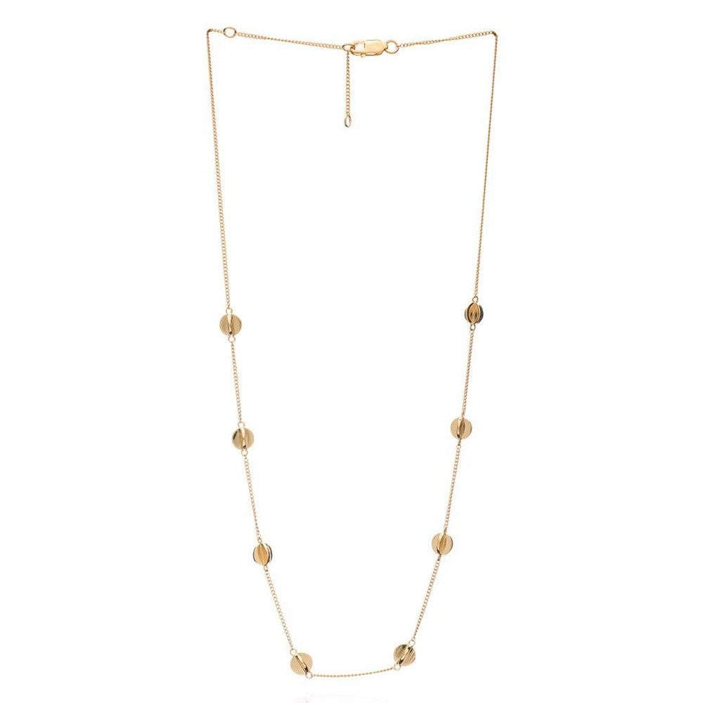 Multi Orb Necklace - Gold