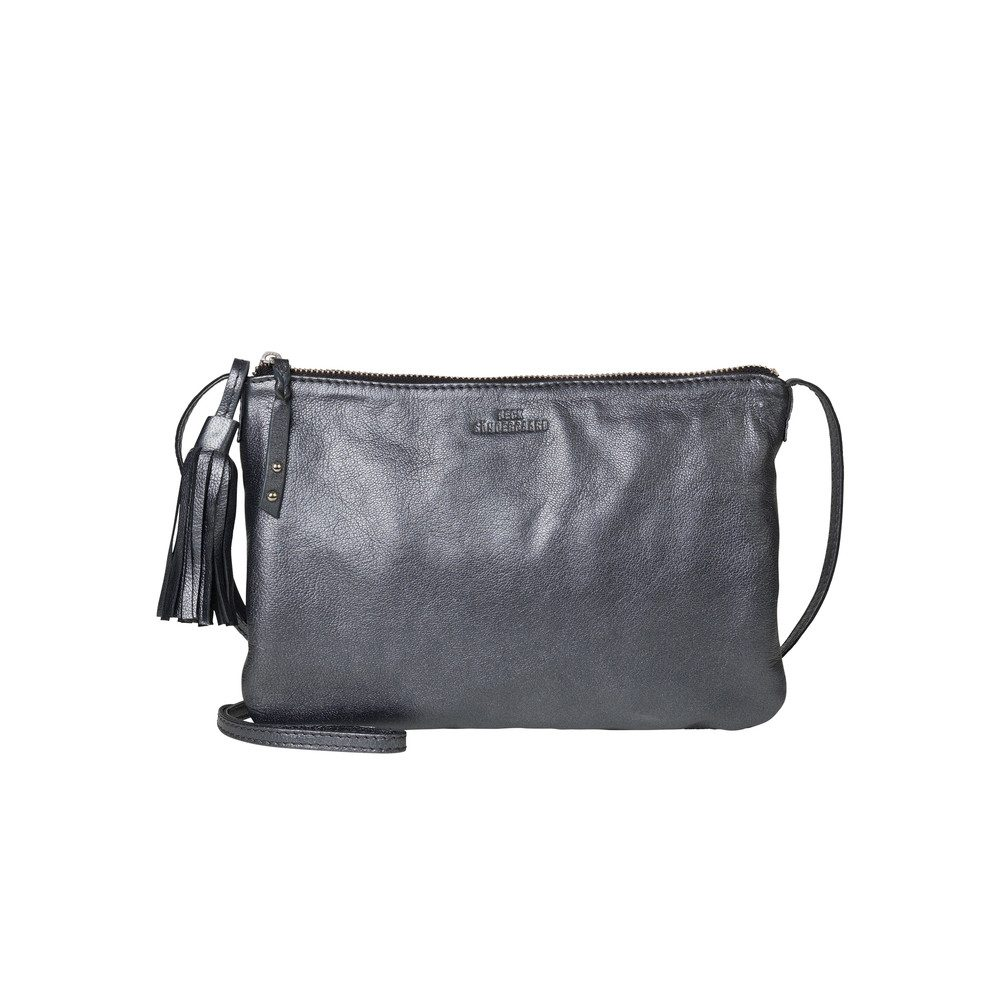 Lymbo Glitz Leather Bag - Black