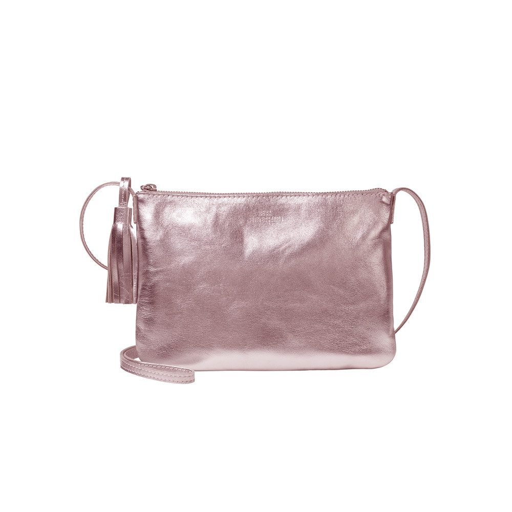 Lymbo Glitz Leather Bag - Rose Dust