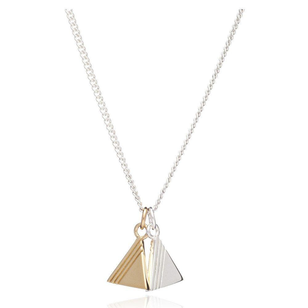 Good Vibes Triangle Necklace - Balance