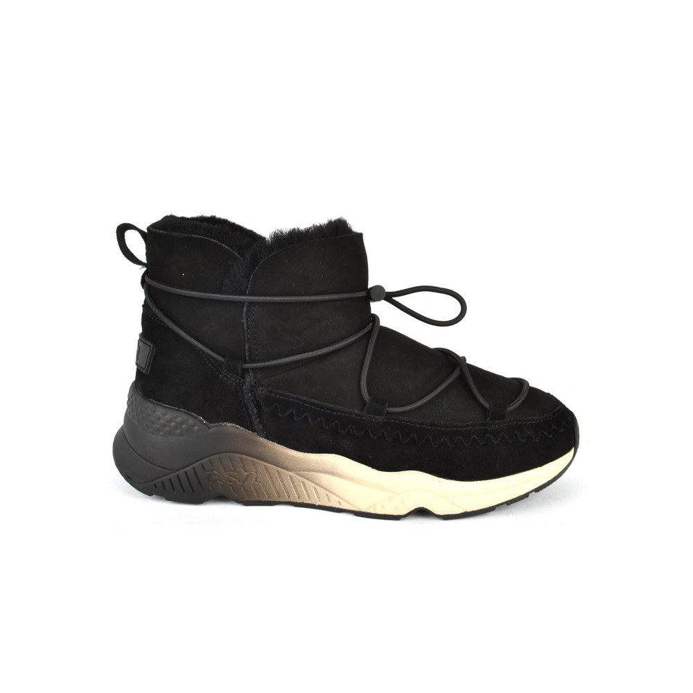 Mitsouko Shearling Boots - Black