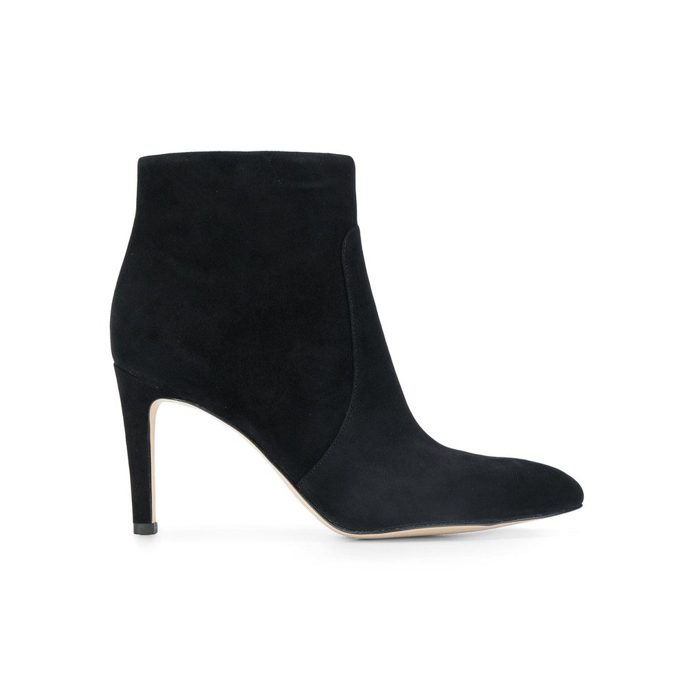Olette Suede Boots - Black