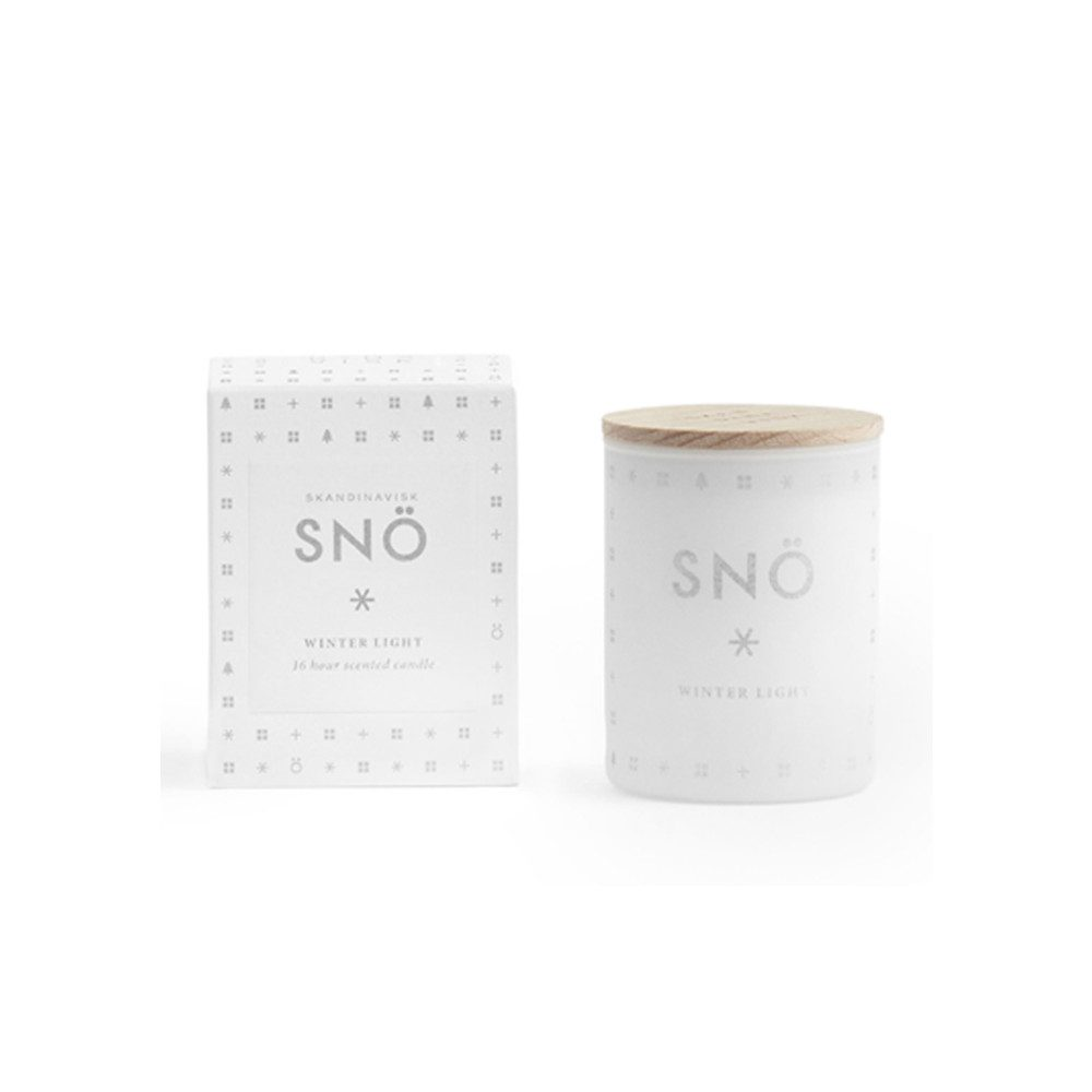 Mini Scented Candle - Sno