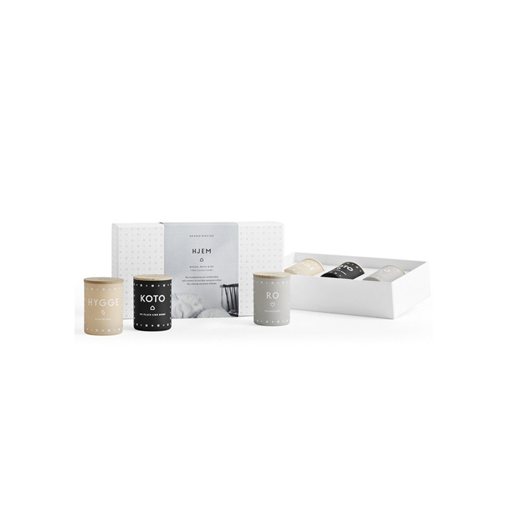 Scented Mini Candle Set - Hjem